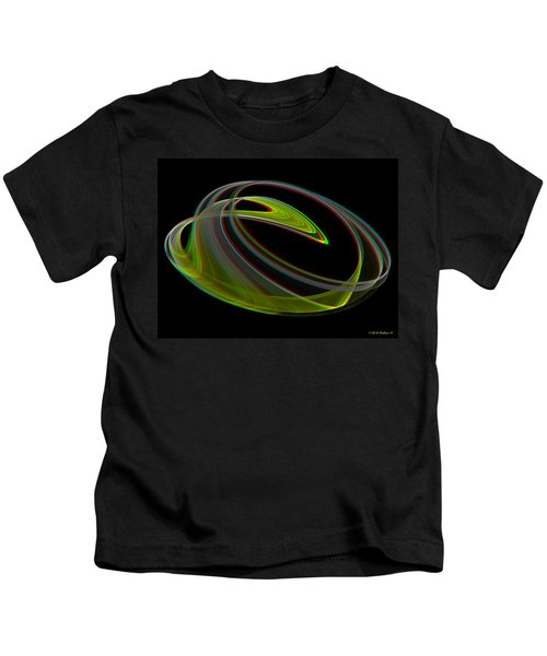 Chaoscope Design 3 - Use Red-cyan 3d Glasses Kids T-Shirt