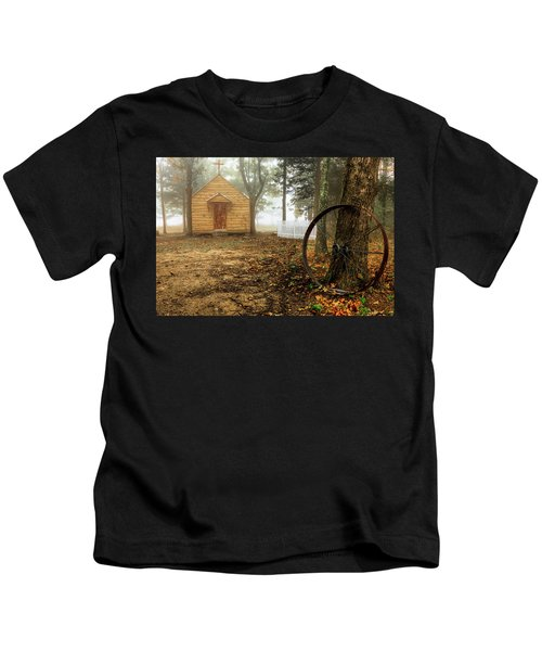 Chapel In The Woods 1 Kids T-Shirt