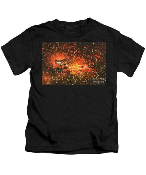 Charged Up Workshop Art Kids T-Shirt
