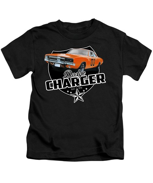 Charger From 1970 Kids T-Shirt