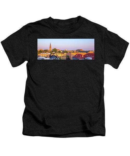 Charleston Glows Kids T-Shirt