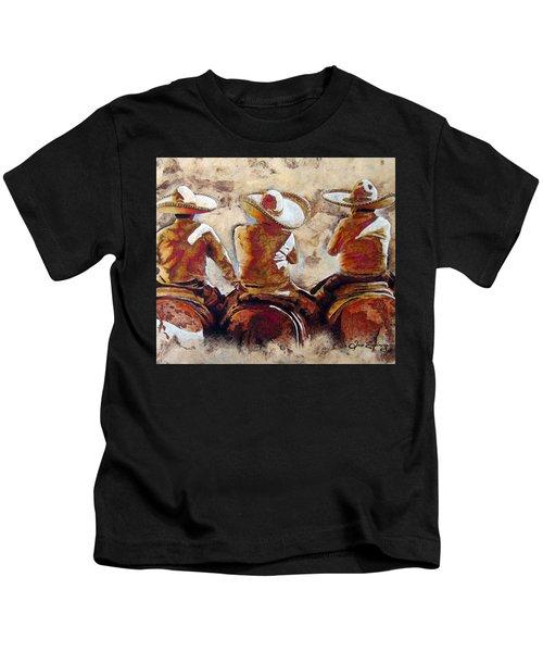 3 . C H A R R O  . F R I E N D S Kids T-Shirt