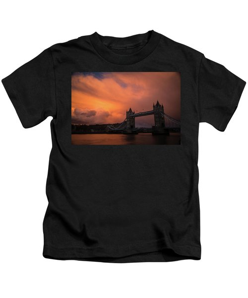 Chasing Clouds Kids T-Shirt