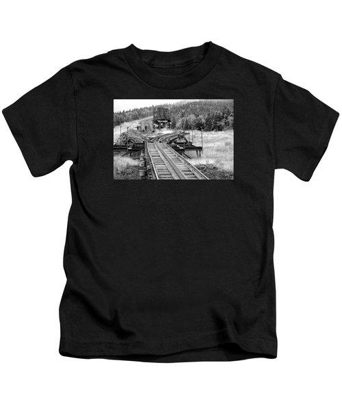 Checking The Rails Kids T-Shirt