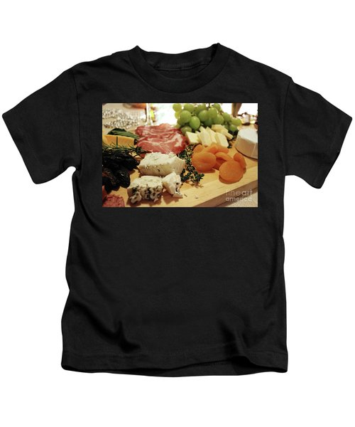 Cheese And Meat Kids T-Shirt