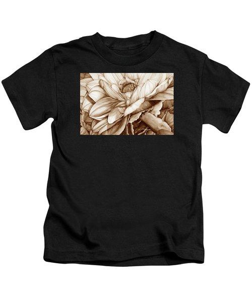 Chelsea's Bouquet 2 - Neutral Kids T-Shirt