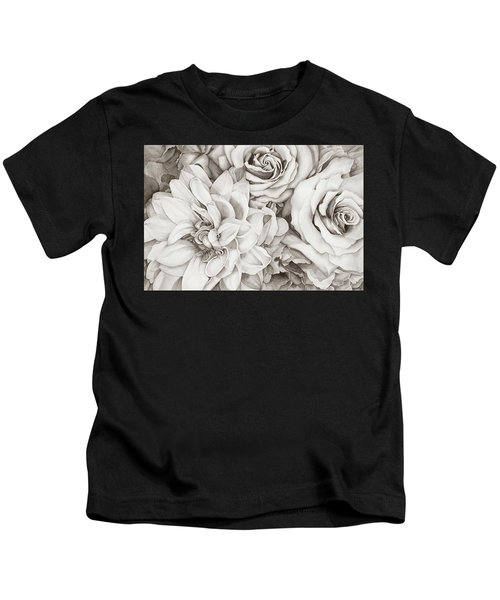 Chelsea's Bouquet - Neutral Kids T-Shirt