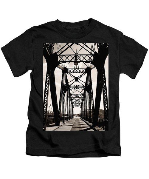 Cherry Avenue Bridge Kids T-Shirt