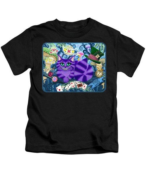 Cheshire Cat - Alice In Wonderland Kids T-Shirt