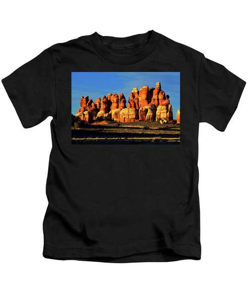 Chesler Park Sandstone Towers Kids T-Shirt