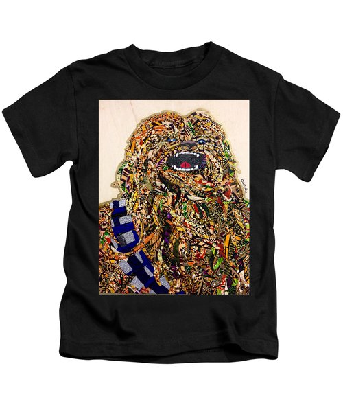 Chewbacca Star Wars Awakens Afrofuturist Collection Kids T-Shirt