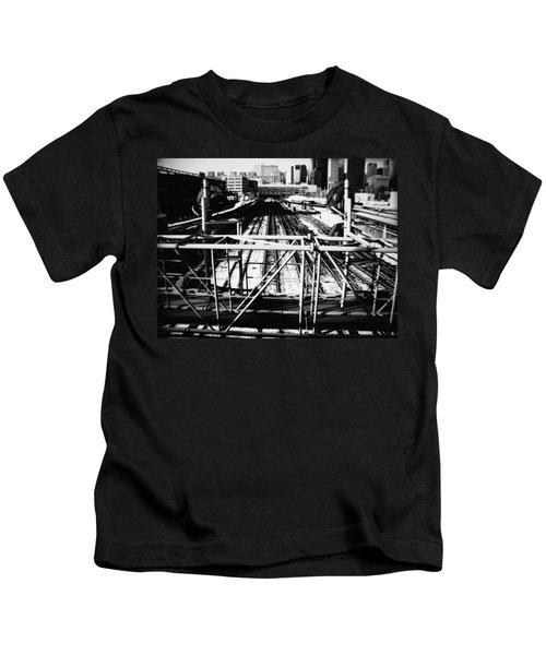 Chicago Railroad Yard Kids T-Shirt
