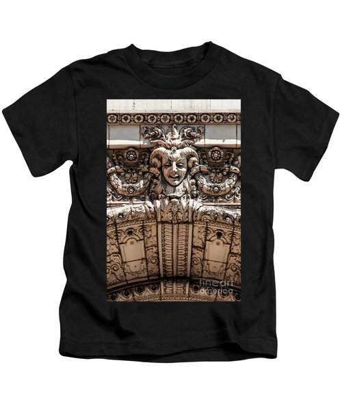 Chicago Theater Jester Kids T-Shirt
