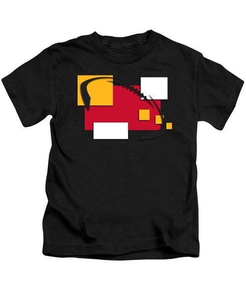 Chiefs Abstract Shirt Kids T-Shirt by Joe Hamilton