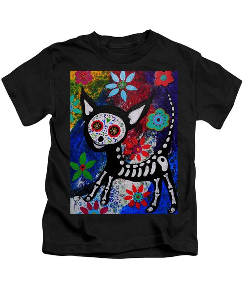 Chihuahua Day Of The Dead Kids T-Shirt