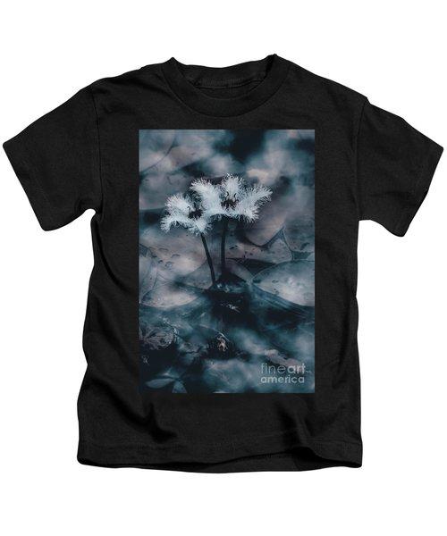Chilling Blue Lagoon Details Kids T-Shirt