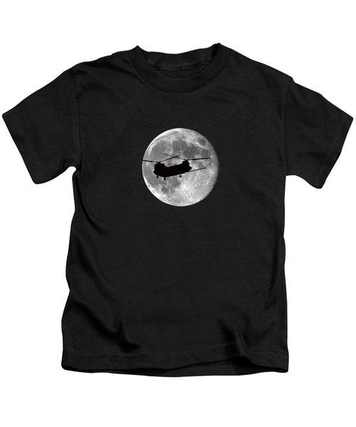 Chinook Moon .png Kids T-Shirt