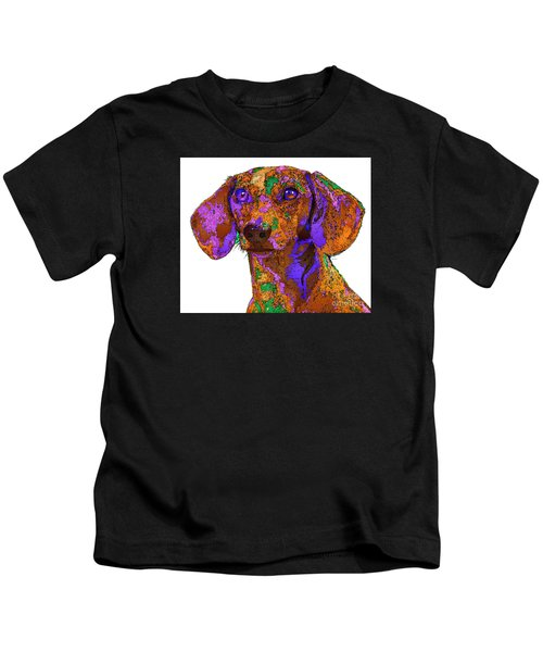 Chloe. Pet Series Kids T-Shirt