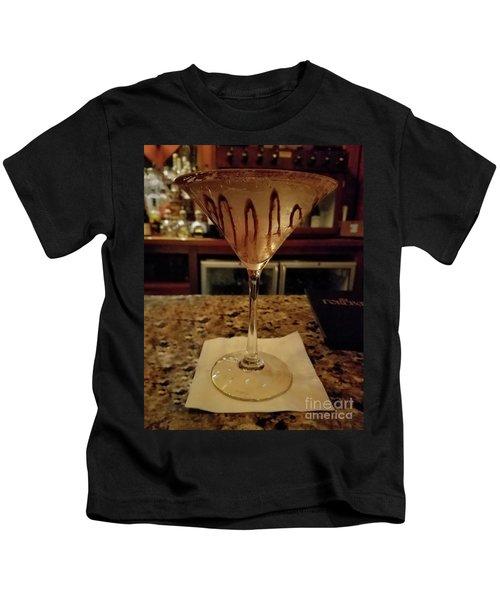 Chocolate Martini Kids T-Shirt