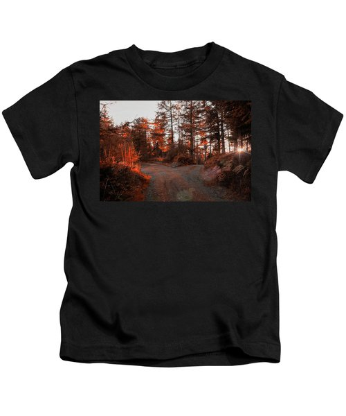 Choose The Road Less Travelled Kids T-Shirt