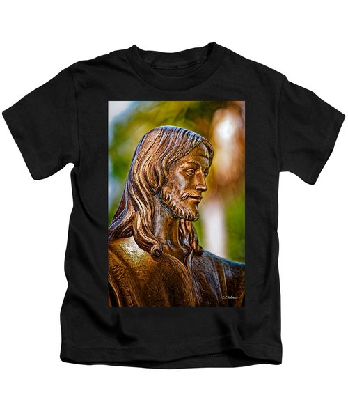 Christ In Bronze Kids T-Shirt