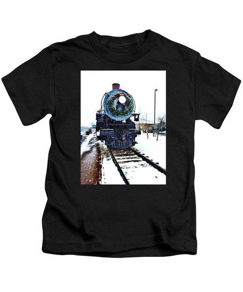 Christmas Train Kids T-Shirt