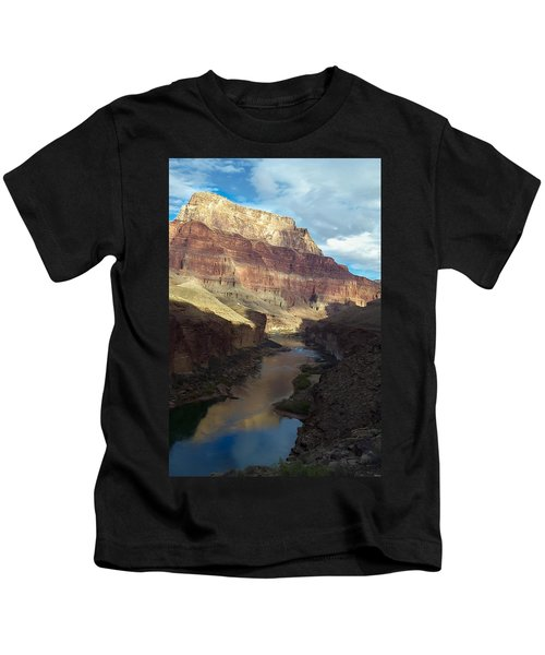 Chuar Butte Colorado River Grand Canyon Kids T-Shirt