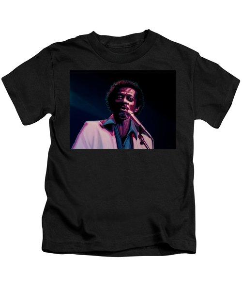 Chuck Berry Kids T-Shirt by Paul Meijering