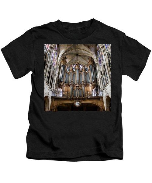 Church Of Saint-severin Organ - #1 Kids T-Shirt
