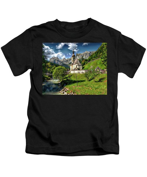 Church Of St. Sebastian Kids T-Shirt
