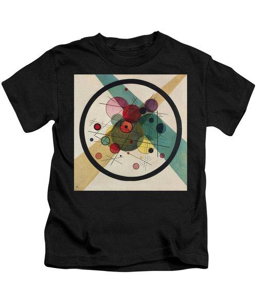 Circles In A Circle Kids T-Shirt