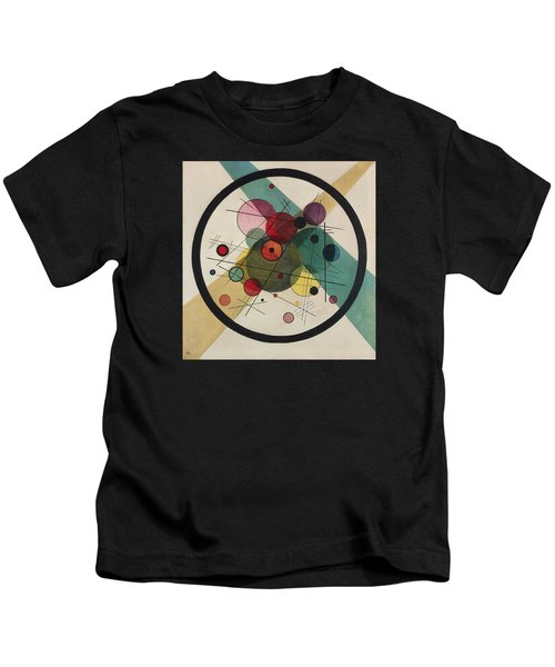 Circles In A Circle Kids T-Shirt