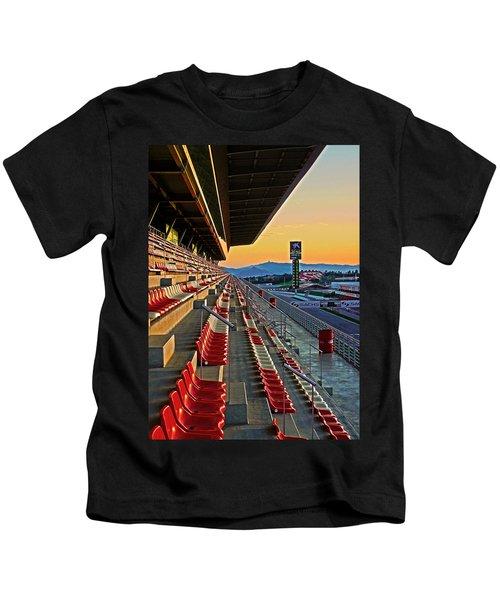 Circuit De Catalunya - Barcelona  Kids T-Shirt