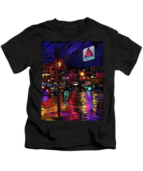 Citgo Sign, Boston Kids T-Shirt