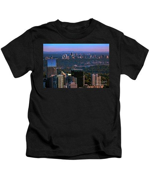 Cities Of Atlanta Kids T-Shirt