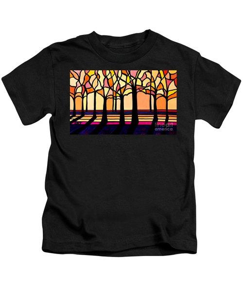 Citrus Glass Trees Kids T-Shirt