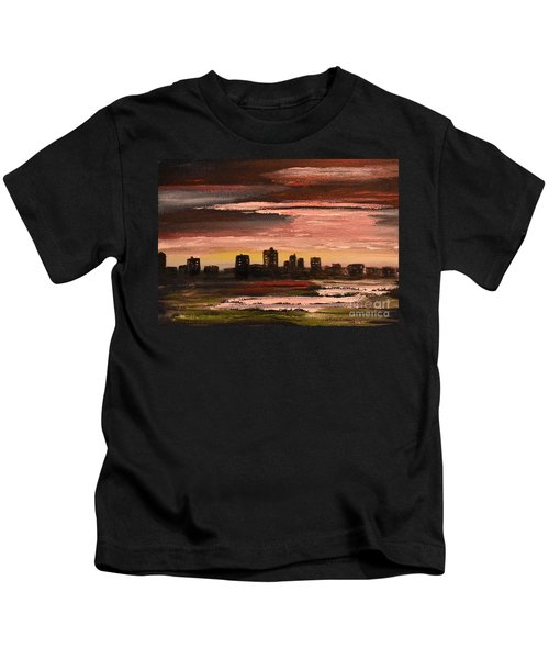City At Night Kids T-Shirt