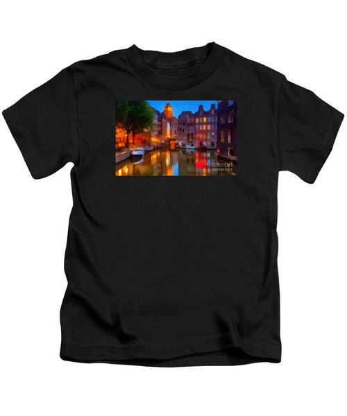 City Block 900 Soft And Dreamy In Thick Paint Kids T-Shirt