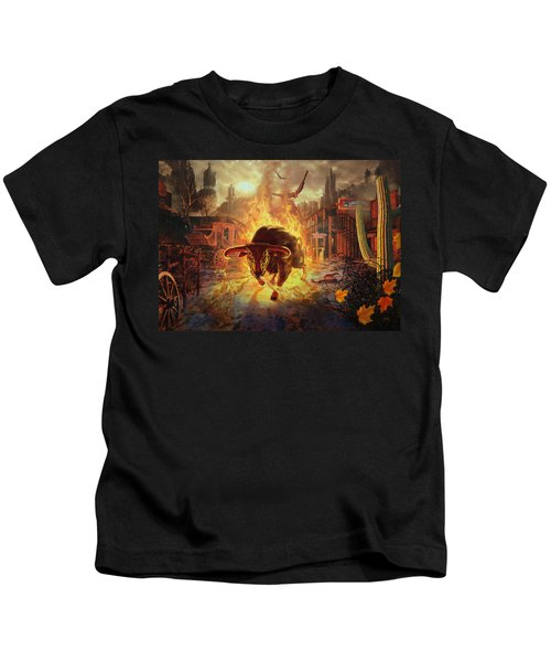 City Bull City Kids T-Shirt
