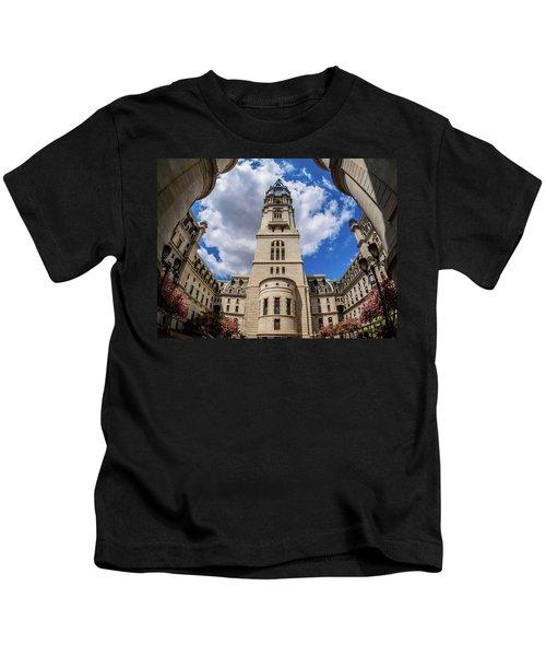City-hall-philadelphia-photo Kids T-Shirt