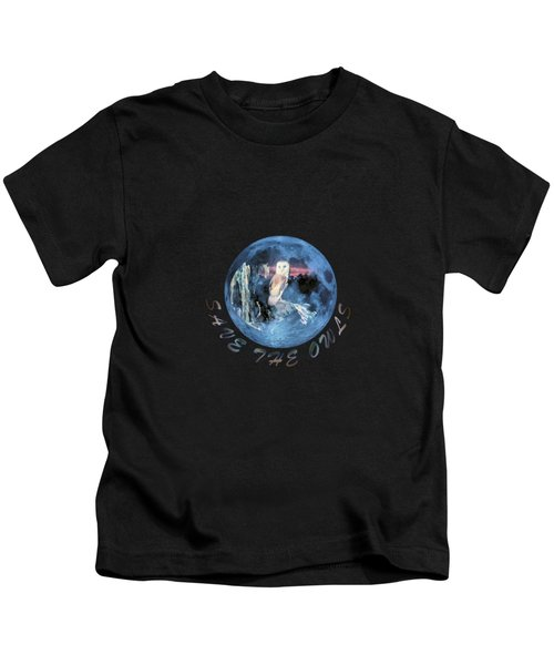 City Lights Kids T-Shirt by Valerie Anne Kelly