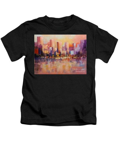 Cityscape 2 Kids T-Shirt