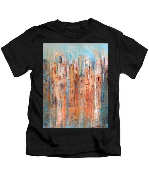 Cityscape #3 Kids T-Shirt
