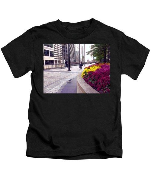 Civilization And Birds Kids T-Shirt