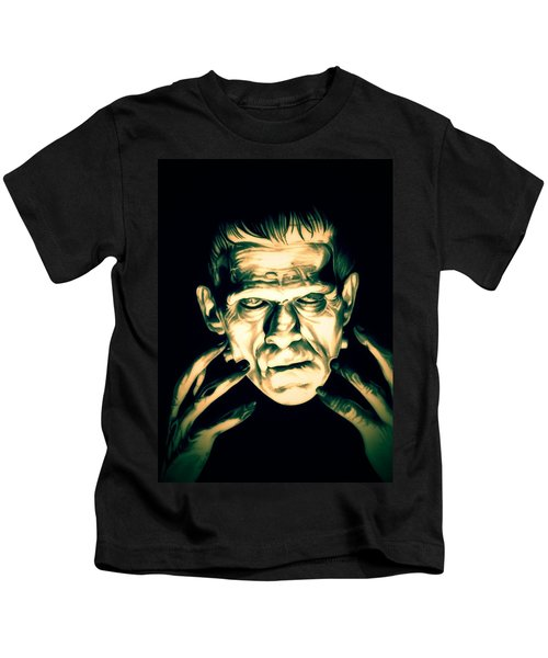Classic Frankenstein Kids T-Shirt