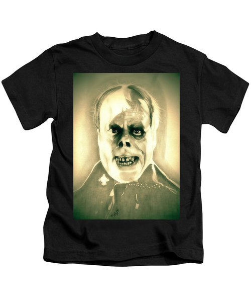 Classic Phantom Of The Opera Kids T-Shirt