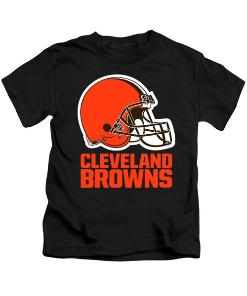 Cleveland Browns Translucent Steel Kids T-Shirt