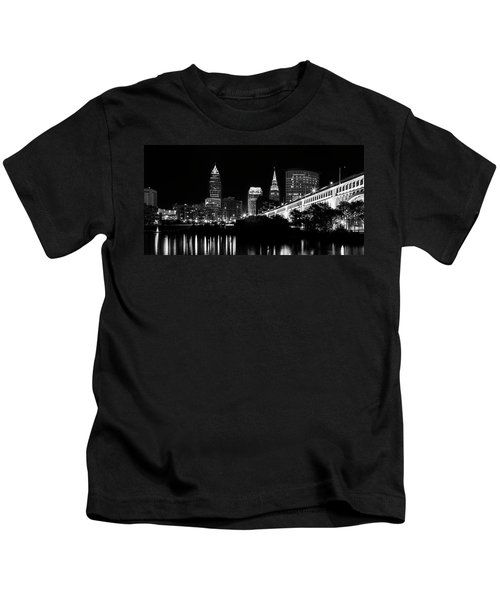 Cleveland Skyline Kids T-Shirt