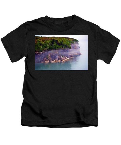 Cliff Fog Kids T-Shirt