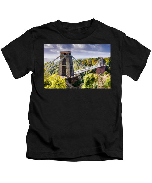 Clifton Suspension Bridge Kids T-Shirt